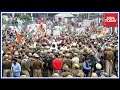 Congress Stages Protest Against PDP-BJP Govt In Jammu & Kashmir