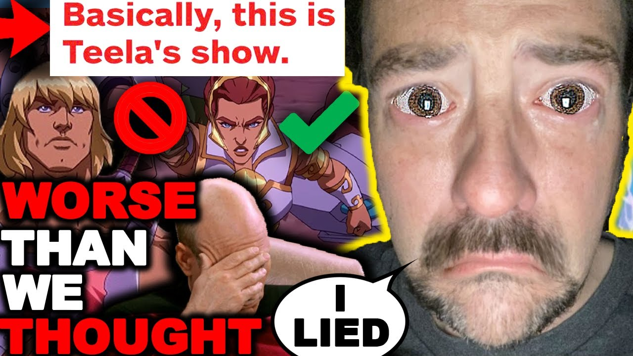 Kevin Smith LIED To EVERYONE! Masters of the Universe: Revelation Reviews ARE OUT! He-Man Sidelined