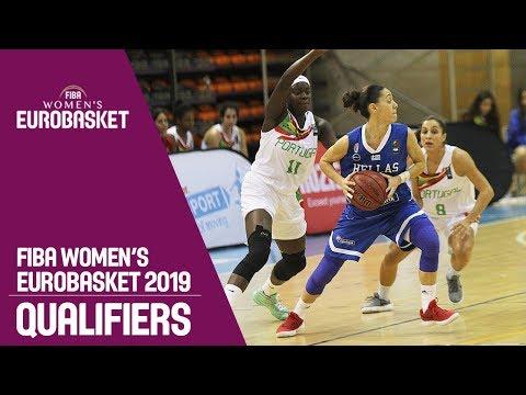 Portugal v Greece - Full Game - FIBA Women's EuroBasket 2019 Qualifiers