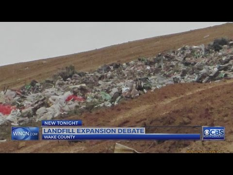 Neighbors Fight Privately Owned Wake County Landfill Seeking To Accept More Waste