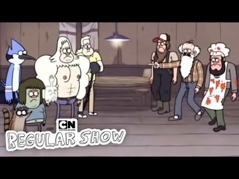 Inferno Wing Challenge I Regular Show I Cartoon Network
