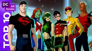 Video Top 10 Young Justice Episodes of All Time download MP3, 3GP, MP4, WEBM, AVI, FLV November 2017