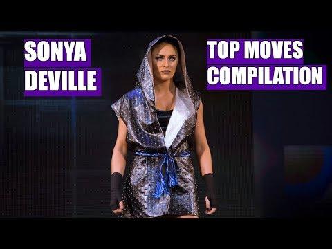 WWE Sonya DevilleTop Moves Compilation