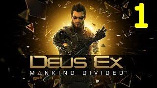 DEUS EX HUMAN - MANKIND DIVIDED Part 1- MAXED OUT Graphics HINDI Gaming