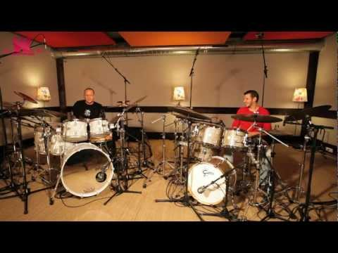 Gretsch Drums - Duo Nicolas Viccaro & Gergo Borlai by www.wikidrummers.com