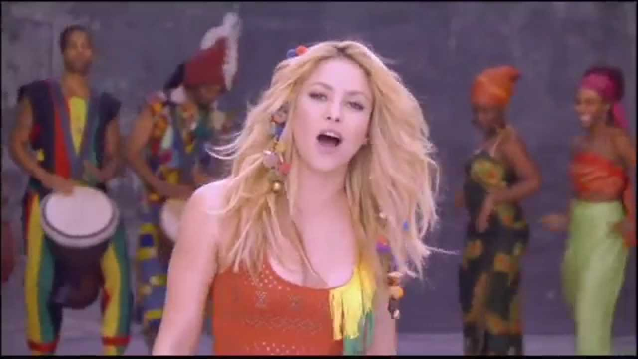 Скачивай и слушай shakira waka waka this time for africa...
