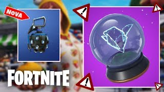 NEW GRENADE?! AND BUG OF THE PORTABLE RIFT! -FORTNITE BATTLE ROYALE