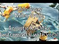Miley Cyrus - Slide Away Acoustic Karaoke Instrumental with guide vocal