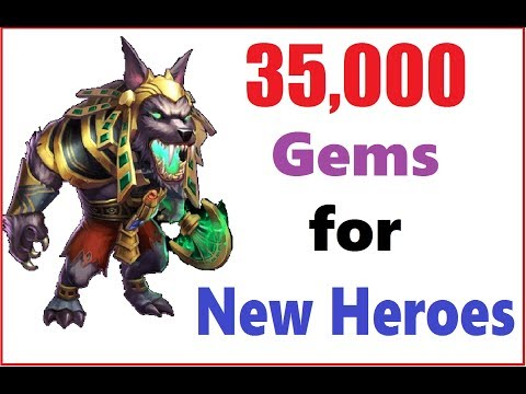 Look at the Base! 35k Gems for Events Heroes Talents Castle Clash
