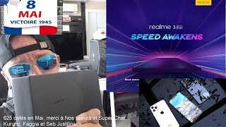 Android Q, Google Pixel 3a et Pixel 3A XL, Realme X, Realme X Youth Edition, #accrotidienne 8 Mai