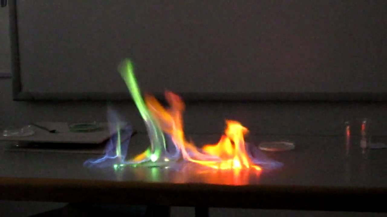 Burning Chemicals Youtube