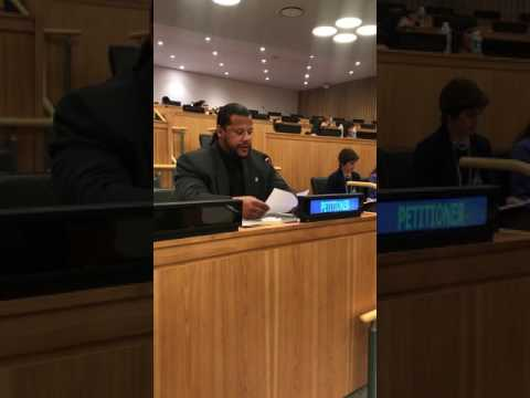 2017 Special Committee 24 address to the United Nations