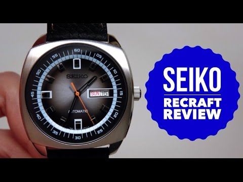 size 40 fdfe2 30d66 SEIKO RECRAFT AUTO MEN'S WATCH REVIEW MODEL: SNKN01