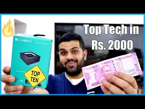 Top 10 Tech For Rs. 2000 - Budget Tech Shopping List 4