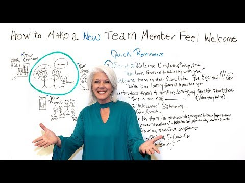 How to Make New Team Members Feel Welcome - ProjectManager com