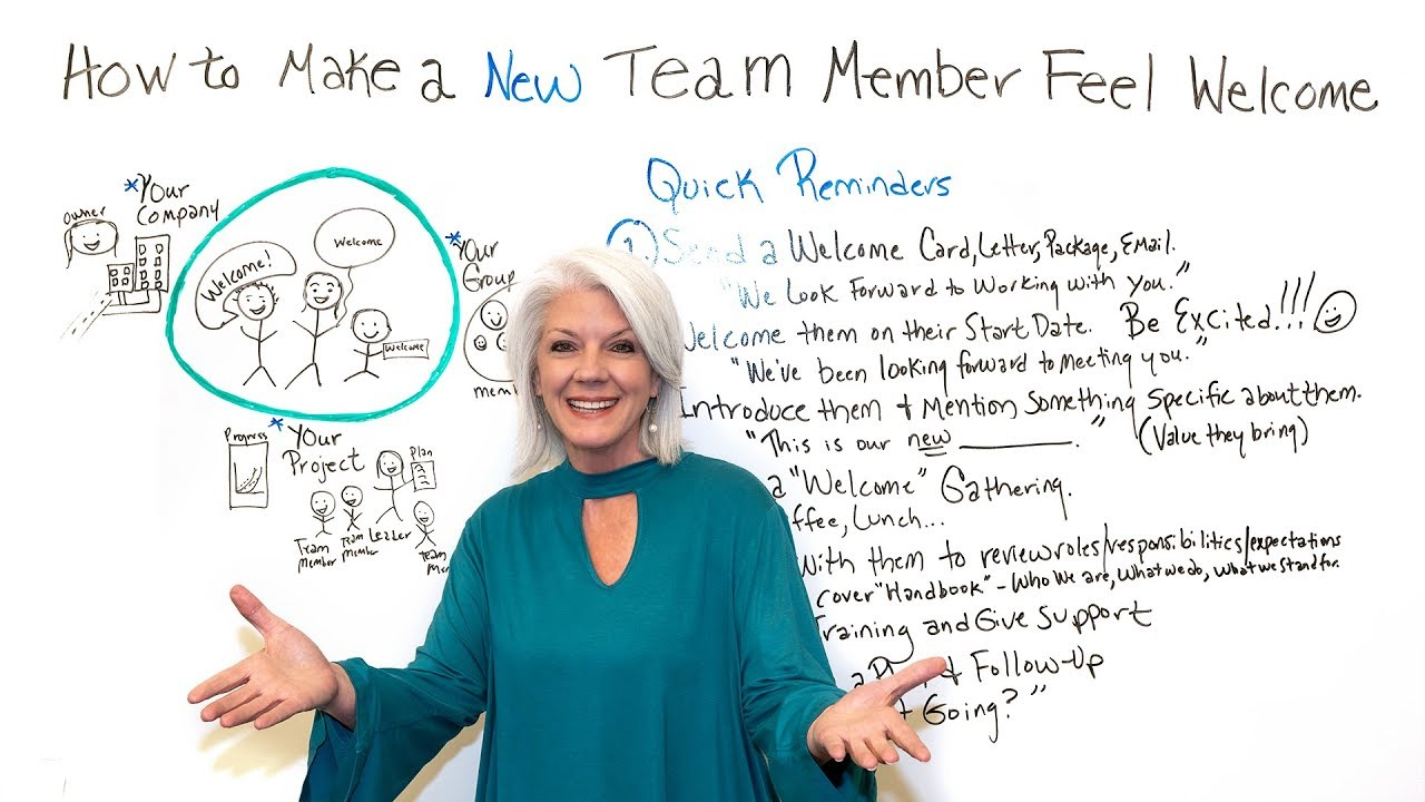 How To Make New Team Members Feel Welcome Projectmanagercom