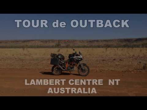Tour de Outback Motorcycle Adventure Lambert Centre