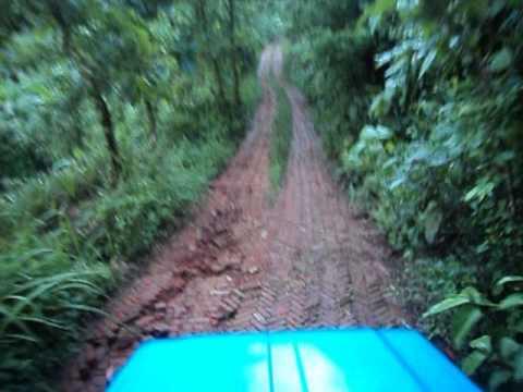 Boga Lake to Ruma Bazar Road during rainy season 2014
