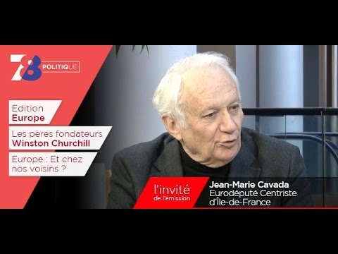 7/8 Politique – émission du 24 février 2017 avec Jean-Marie Cavada (GC)