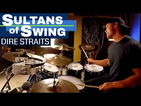 Sultans Of Swing Drum Cover - Dire Straits (High Quality Audio/Album Version) ⚫⚫⚫ Mp3