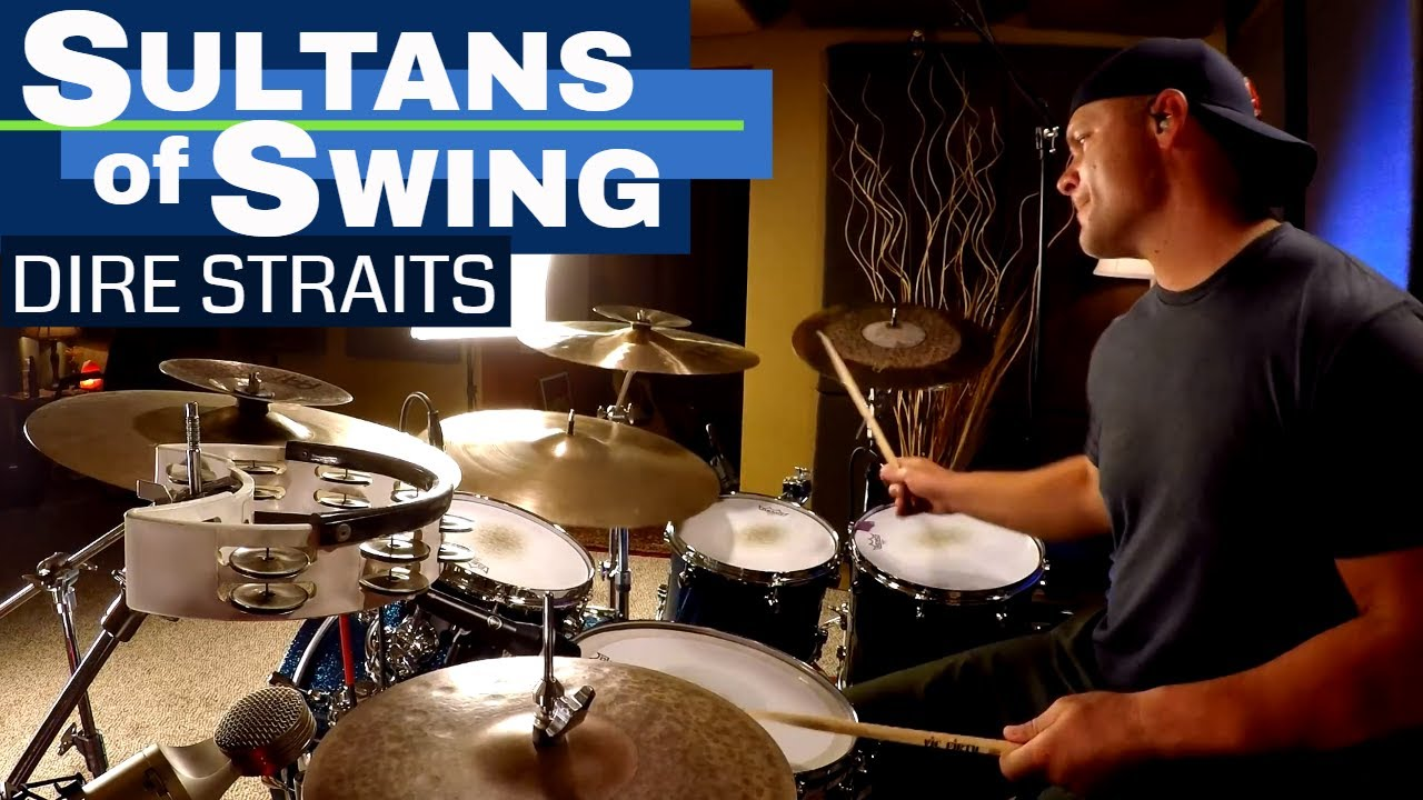 Sultans Of Swing Drum Cover - Dire Straits (High Quality ...