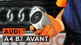 Hur byter man Fjäderbenslagring AUDI A3 (8L1) - videoguide