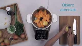 Przepis na zupę krem z dyni z Tefal Cuisine Companion