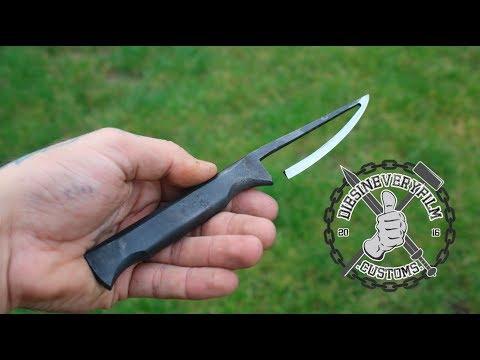 Skeleton Knife Forging