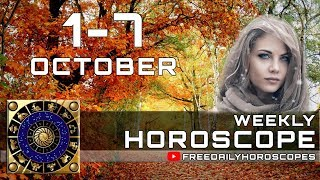 Weekly Horoscope October 1 – October 7 Each Zodiac Sign