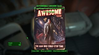 fallout 4 Vault 114 [Magazine] Speech Bobblehead Astoundingly Awesome Tales Issue #8