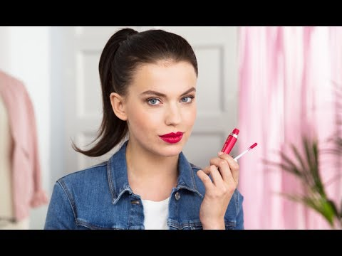 How to Apply Liquid Lipstick | Oriflame Cosmetics