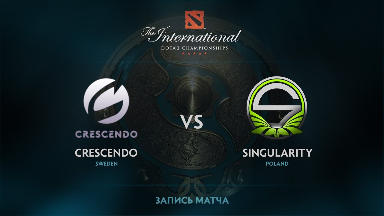 Crescendo vs Singularity, The International 2017 EU Qualifier