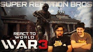 SRB Reacts to World War 3 - Announcement Trailer