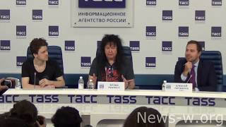 W.A.S.P. - Press Conference - Moscow, TASS 30.11.2017
