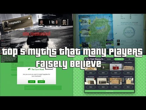 GTA Online Top 5 Myths That Many Players Falsely Believe
