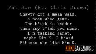 Fat Joe ft. Kirko Bangz - Another Round Lyrics [Video]