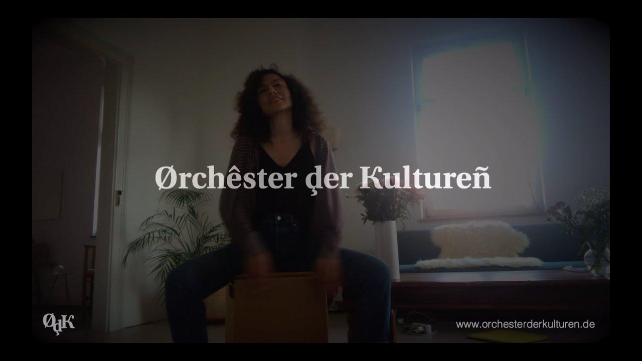 Orchester der Kulturen - Percussionist Debora Vilchez