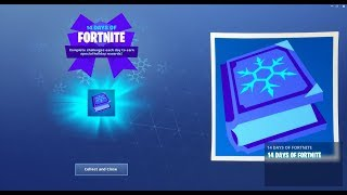*NEW* 14 DAYS OF FORTNITE FINAL REWARD LEAKED! (All Fortnite Battle Royale Free Gifts)