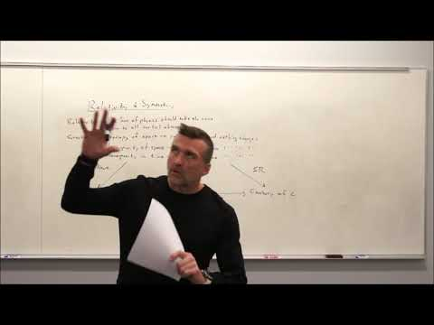 General Relativity Topic 2: Relativity and Symmetry