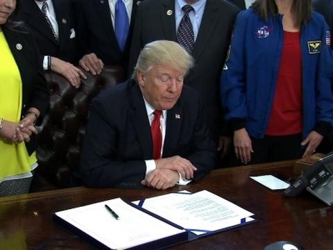 Trump: NASA Bill