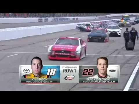 Ryan Sieg NASCAR New Hampshire 2017 Highlights