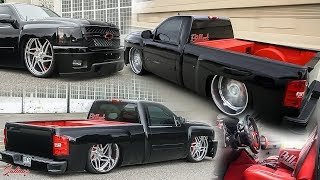 BAGGED TURBO NITROUS 2008 CHEVY SILVERADO! WIDE 26S CUSTOM INTERIOR AND MUCH MORE!