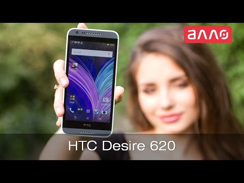 Видео-обзор смартфона HTC Desire 620