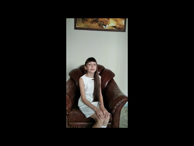 Репина Анна читает произведение «Детство» (Бунин Иван Алексеевич)