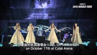 2NE1 All Or Nothing World Tour at The Venetian Macao - 2014