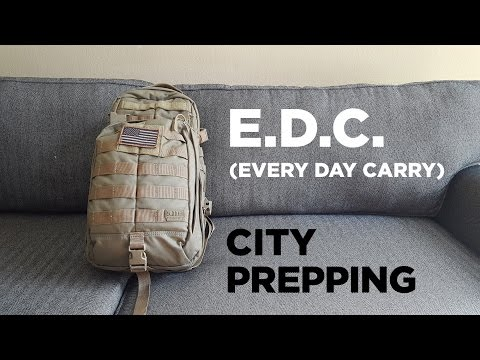 How to build an Every Day Carry (E.D.C.) bag