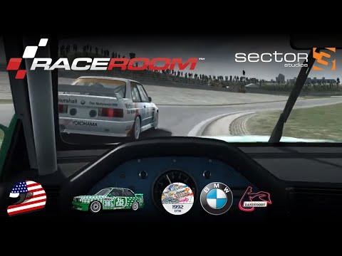 RaceRoom — DTM 1992 BMW Battle @ Zandvoort  