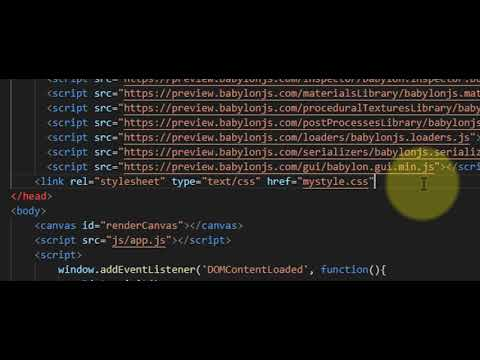 Intro To HTML And JavaScript Part 2 : Adding 3D To HTML