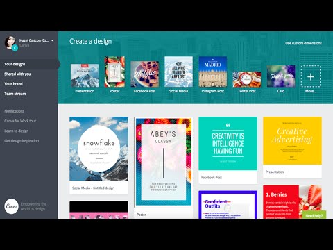 Learn How To Create and Design Eye Catching Ads and Banners With Canva For Facebook Ads and Website