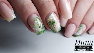 ❤ НЕВЕРОЯТНАЯ красота ❤ ВЕСЕННИЙ дизайн ногтей ❤ MASURA ❤ ПОШАГОВО ПОДСНЕЖНИКИ на ногтях ❤